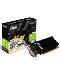 VGA MSI GT710-SL 2GB DDR3 PCI EXPRESS 2.0