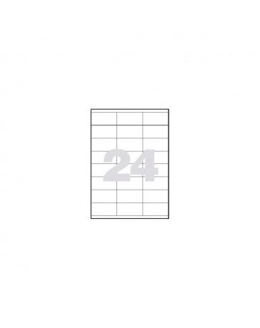 ETIQUETAS LASER 70 X 35 C/100
