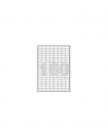 ETIQUETAS LASER 22X12 C/100 CANTO ROMO