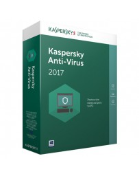 SOFTWARE KASPERSKY ANTIVIRUS 3 USUARIO 2017