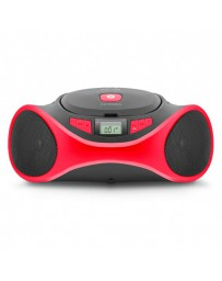 REPRODUCTOR CD SPC CLAP BOOMBOX ROJO 4501R