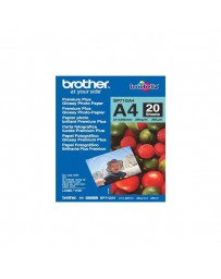 PAPEL BROTHER GLOSSY A4 ( 20 HOJAS ) BP71GA4