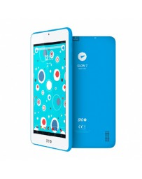 "TABLET SPC GLOW 7"" IPS/QUAD CORE 1.3GHZ/512MB/8GB AZUL"