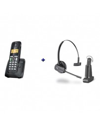 BUNDLE GIGASET A220 + PLANTRONICS C565 WIRELESS DECT /GAP