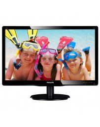 "MONITOR LED PHILIPS 24"" 246V5LHAB FULLHD VGA HDMI NEGRO"