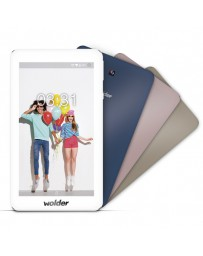 "TABLET WOLDER COLORS 7"" QC 1.3/8GB/1GB"