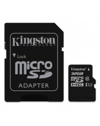 MICRO SDHC KINGSTON 32GB CLASE 10