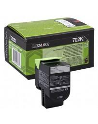 TONER LEXMARK ORIG. RETORNABLE NEGRO 70C20K0