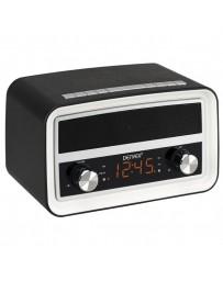 DESPERTADOR DENVER CRB-619 BLACK MK2 ALARMA DUAL FM NEGR
