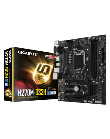 PLACA BASE GIGABYTE GA-H270M-DS3H 1151 MATX