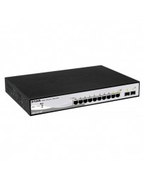 SWITCH D-LINK 8 PORT GIGABIT SMART+ 2MINI-GBIC SFP