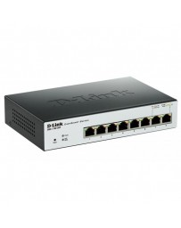SWITCH D-LINK 8 PORT POE GIGABIT EASYSMART