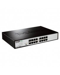 SWITCH D-LINK 16 PORT COOPER GIGABIT ETHERNET DESK/RACKMOUNT