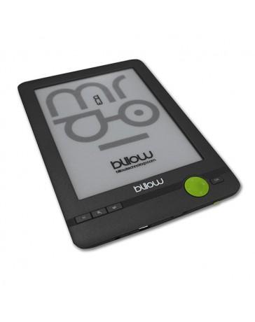 "E-BOOK BILLOW TINTA ELEC. 6"" 4GB FRONT LIGHT E03FLC + FUNDA"
