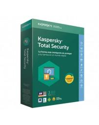 SOFTWARE KASPERSKY TOTAL SECUR.MULTIDEVICE 3US 2018