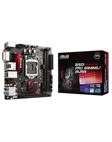PLACA BASE ASUS INTEL B150I-PRO GAMING 1151/WIFI/BLUET/DDR4