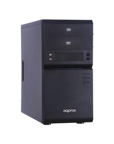 CAJA SEMITORRE APPROX NEWTON M-ATX USB3.0 APPGXM002USB3.0