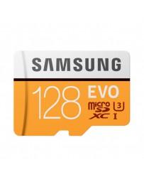 MICRO SDHC SAMSUNG EVO 128GB CON ADAP. CLASE 10