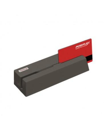 LECTOR TARJ. MAGNETICA 3 PISTAS USB COLOR NEGRO