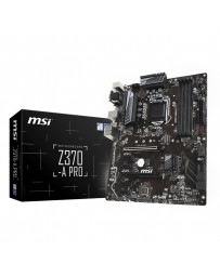 PLACA BASE MSI Z370-A PRO 4DDR4 64GB VGA 8USB3.1