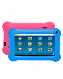 "TABLET DENVER 7"" KIDS PINK/BLUE QC1.2/1GBRAM/8GBROM"