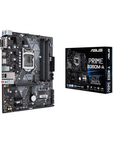 PLACA ASUS PRIME B360M-A 1151/MATX/DDR4/USB3.1