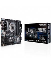 PLACA BASE ASUS INTEL H370M-PLUS 1151/MATX/DDR4/RAID