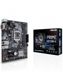 PLACA ASUS PRIME H310M-K 1151 DDR4 16MB