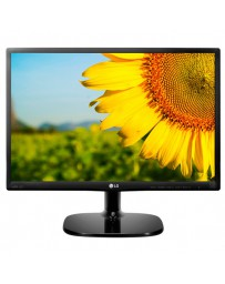 "MONITOR LG LED 19.5"" 20MP38HQ-B 5MS VGA HDMI NEGRO MATE"