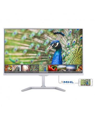 """MONITOR PHILIPS 23.6"""" 246E7QDSW VGA/HDMI/DVI BLANCO"""