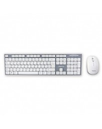 TECLADO+RATON APPROX WIRELESS WHITE APPKBWELEGANT