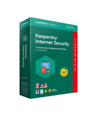 SOFTWARE KASPERSKY INTER. SECU. 5 USER 2019