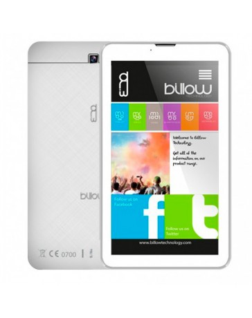"TABLET BILLOW X703W 7"" QUAD IPS 1.3 GH 8GB ANDROID 8.1 BLAN"