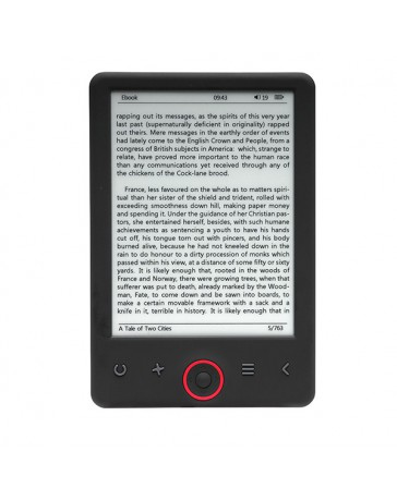 "E-BOOK DENVER 6"" PEARL 4GB"