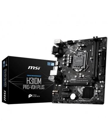 PLACA BASE MSI H310M PRO-VDH PLUS LGA1151 2XDDR4 HDMI VGA