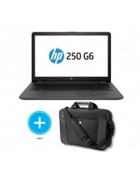 "PORTATIL HP 250 G6 N4000 4GB 240SSD 15.6""FREEDOS+MALETIN"