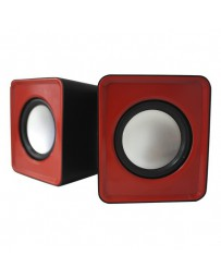 ALTAVOCES-MINI APPROX 5W USB ROJO APPSPX1R*