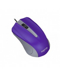 RATON APPROX OPTICO LITE USB MORAD APPOMLITEP/V2*