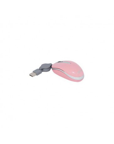RATON APPROX OPTICAL CABLE RETRACTIL ROSA*