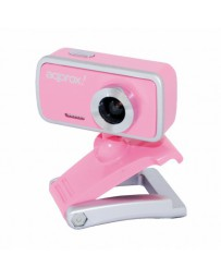 CAMARA APPROX WEBCAM USB 2,0 ROSA APPWC02P*
