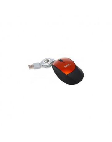 RATON HAVIT HV-M233 NARANJA/NEGRO USB