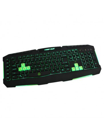 TECLADO KEEP OUT GAMING 3 PROF / 8 KEYS F90S*