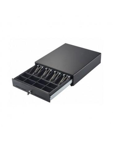 CAJON MONEDAS MUSTEK 41X41 HS-415 USB NEGRO