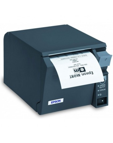 IMPRESORA TICKETS EPSON TM-T70II USB+RS232 NEGRA