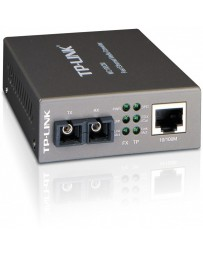 CONVERTIDOR TP-LRJ45 10/100MBPS FIBRA MC100CM