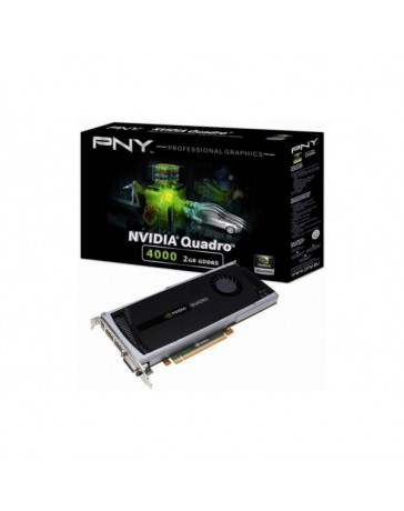 VGA PNY QUADRO 4000 2GB GDDR5 PCI-E
