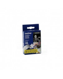 CINTA BROTHER ORIG.TZ315/E NEGRO/BLANCO 6MM