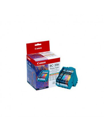 INK JET CANON ORIG. BJC-3000 4 COLORES BC-34
