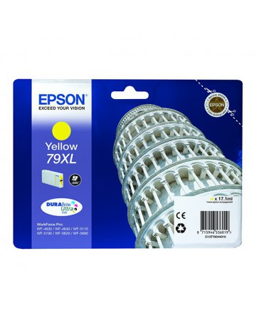 INK JET EPSON ORIGINAL C13T79044010 AMARILLO