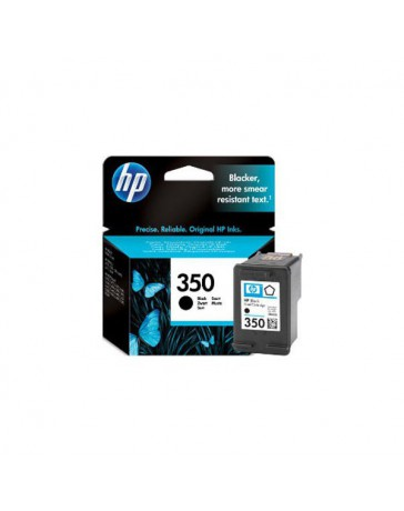 INK JET HP ORIG. CB335EE Nº350 NEGRO